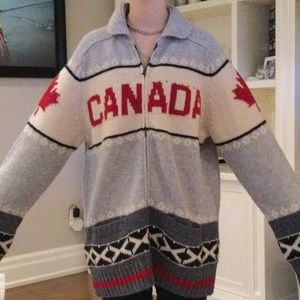 Hudson's Bay Olympic wool sweater